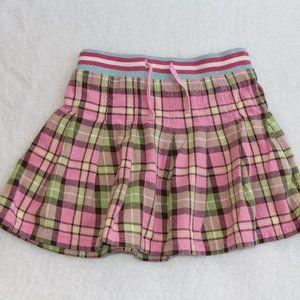 Mini Boden Girl's Plaid Skirt